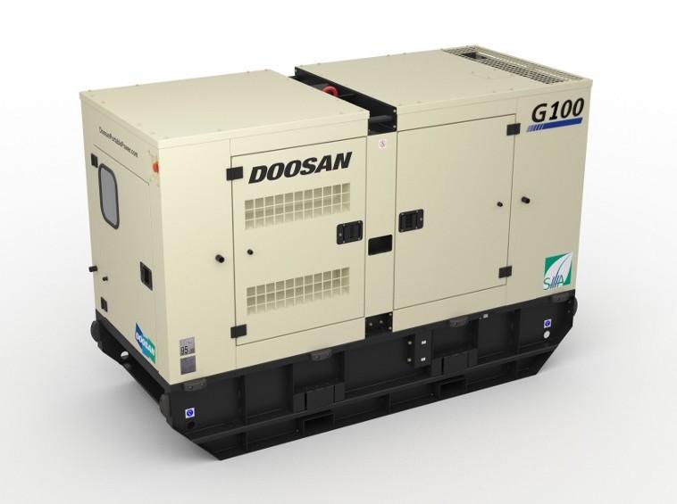 Doosan G100 KVA siteweb
