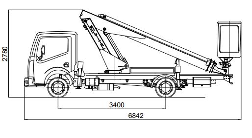 Camion nacelle 16M Fiche technique 2
