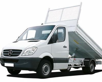 camion-benne-Mercedes